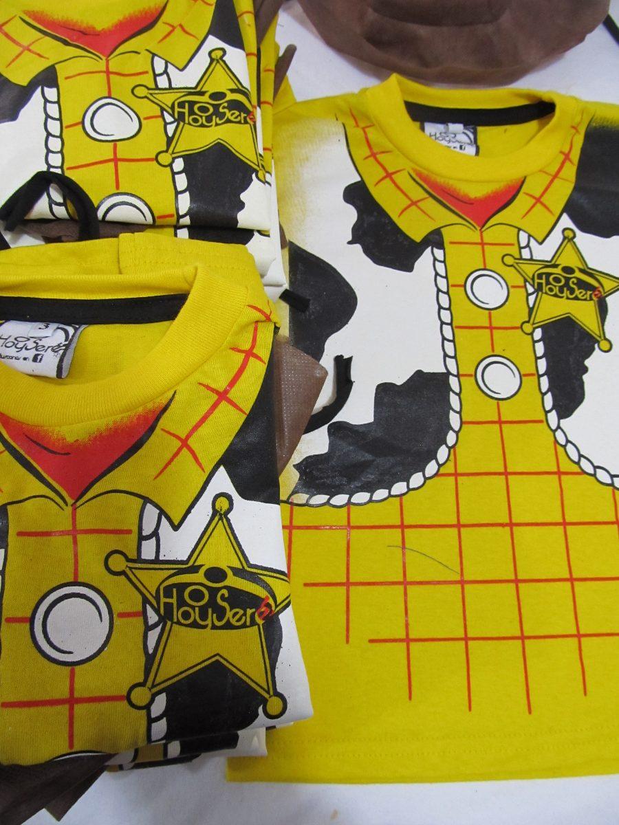 remera disfraz de nene personaje woody toy story vaquero. Cargando zoom. c1a67efc063