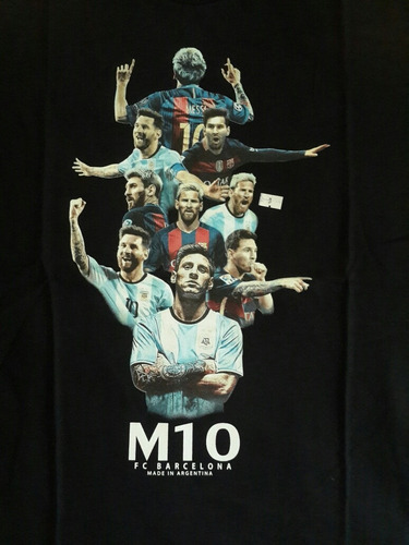 remera eikeel messi fútbol barcelona argentina