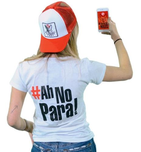 remera el chacal - hashtag #ahnopara! mujer