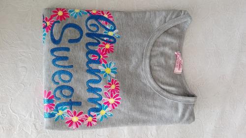 remera en algodón con lindo diseño