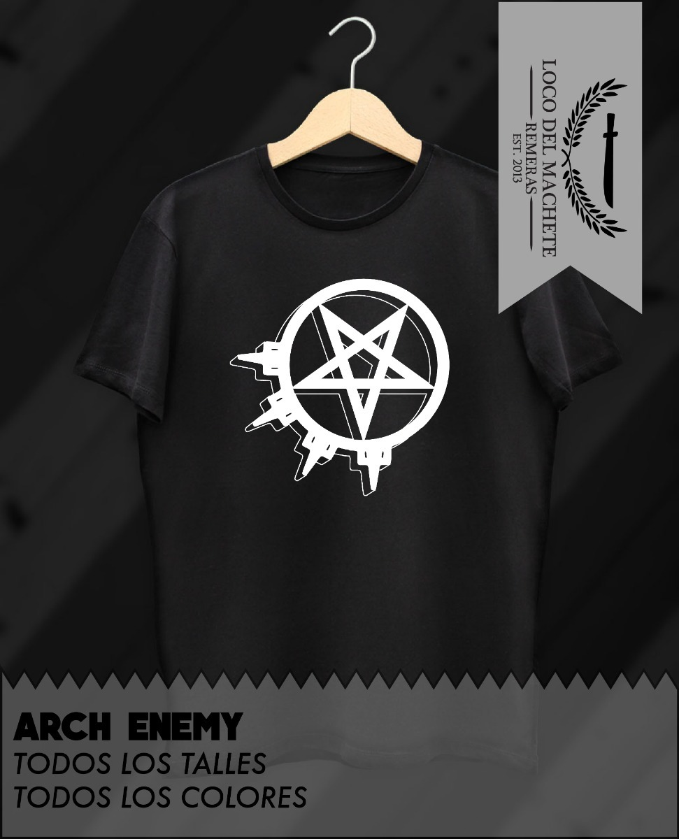 remera estampada arch enemy logo. Cargando zoom. c8081d1b02864