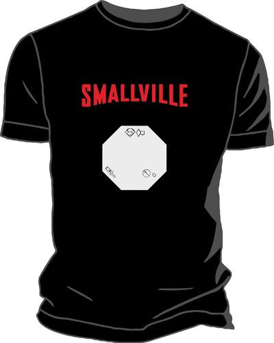 remera estampada ploteada sublimada smallville superman