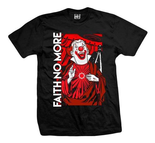 remera faith no more  clown