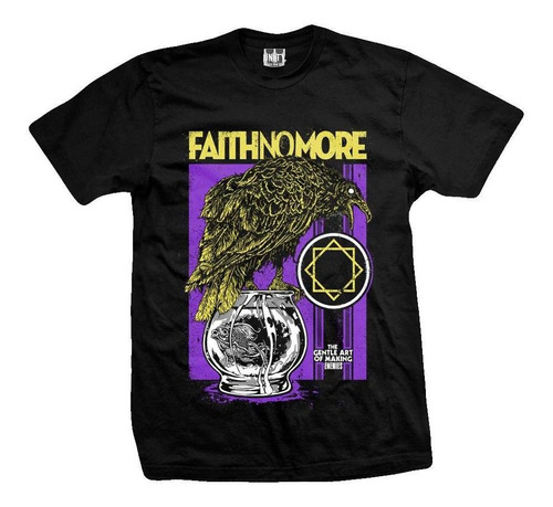 remera faith no more crow