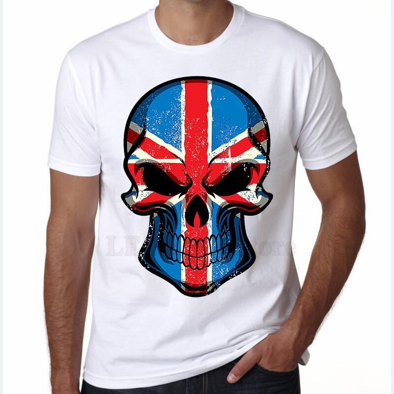 ... remera fashion uk flag cráneo impresaboy streetwear hip hop. Cargando  zoom. 32cdc5c4479
