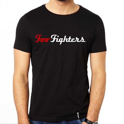 remera foo fighters - 100% algodón - calidad premium - 9
