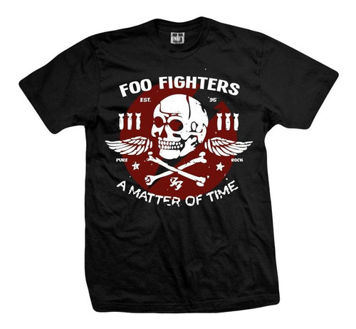 remera foo fighters a matter of time