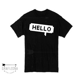 Premium Jungkook Chat Remera Bts Army Kpop Hello Globo rthdxsQC