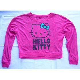 Remera Hello Kitty Pink Reversible Importada Original M L