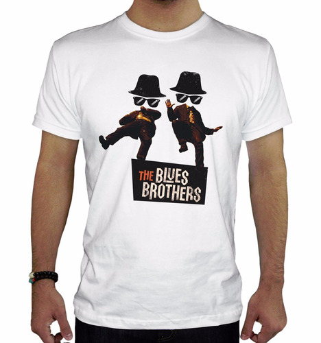 remera hombre  blues brothers inkpronta