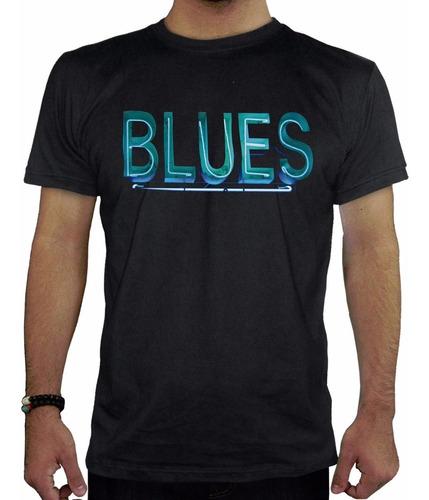 remera hombre  blues inkpronta