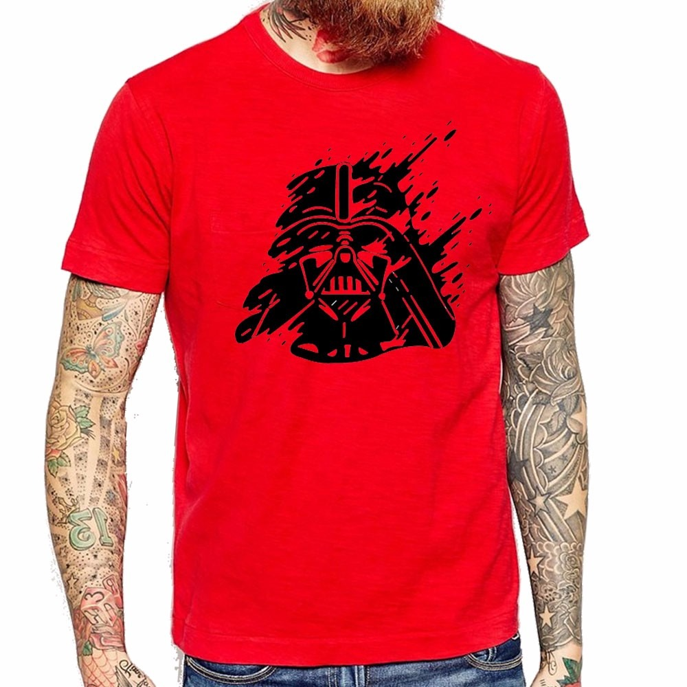 e0d7e28062214 Remera Hombre Darth Vader Star Wars Roja Diseño Unico! -   590