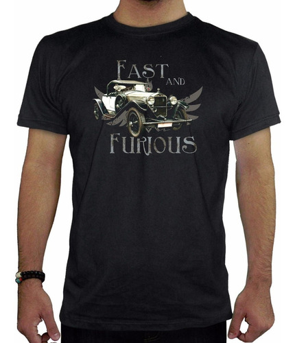 remera hombre  fast & furious inkpronta