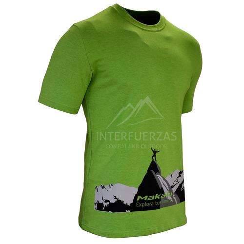 remera hombre makalu montañismo trekking senderismo
