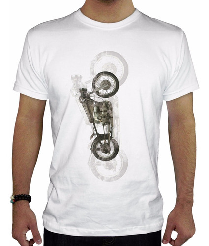 remera hombre  moto inkpronta