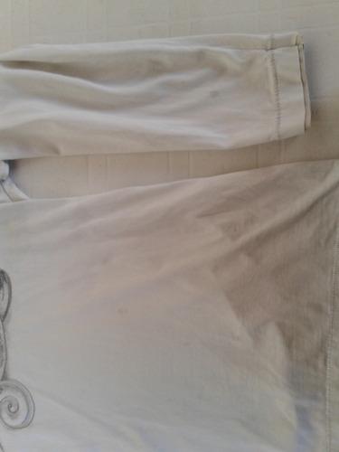 remera hombre narrow manga larga de algodon gris talle 3