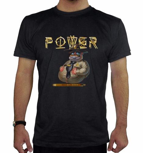 remera hombre  power inkpronta