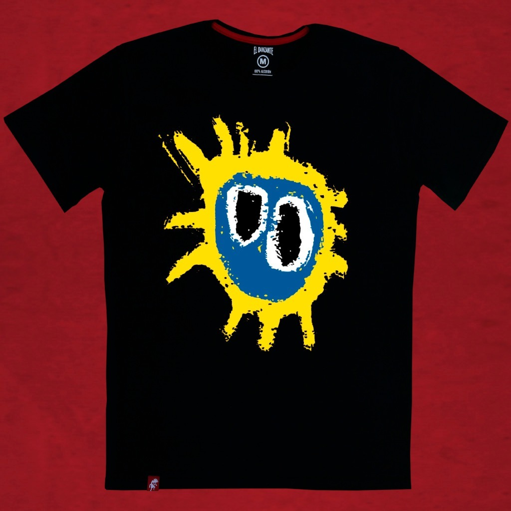 Remera Hombre Primal Scream Logo El Danzante - $ 500,00 en Mercado Libre