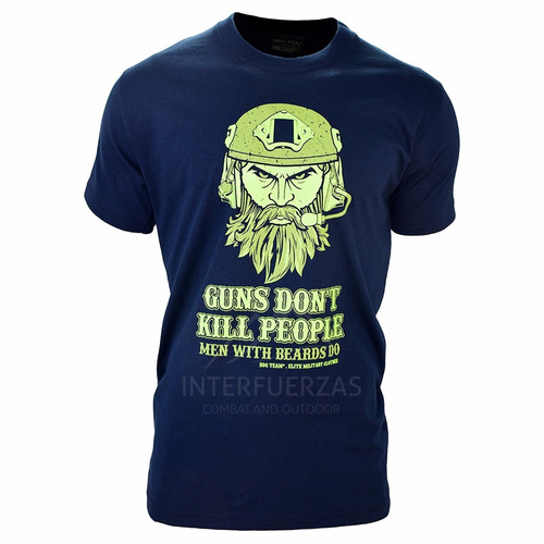 remera hombre sog team® guns don´tkill people
