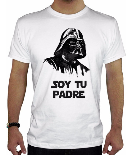 remera hombre  soy tu padre inkpronta