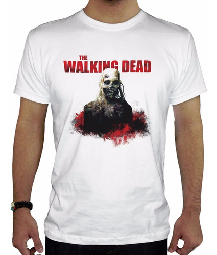 remera hombre  the walking dead inkpronta