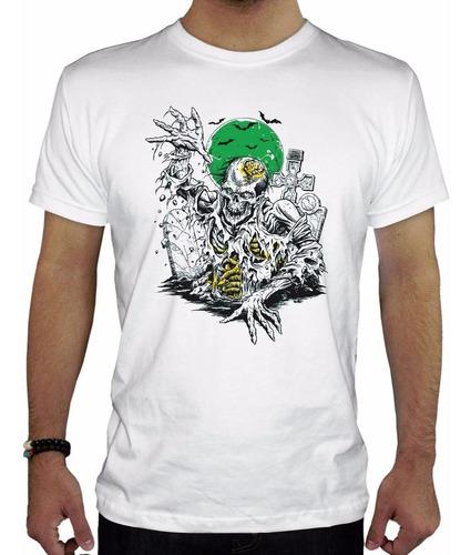 remera hombre  zombie10 inkpronta