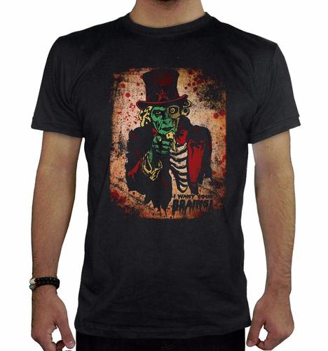 remera hombre  zombie8 inkpronta