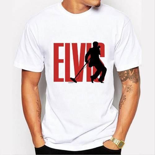 remera hombres estilo elvis presley elvis pop hombres camis