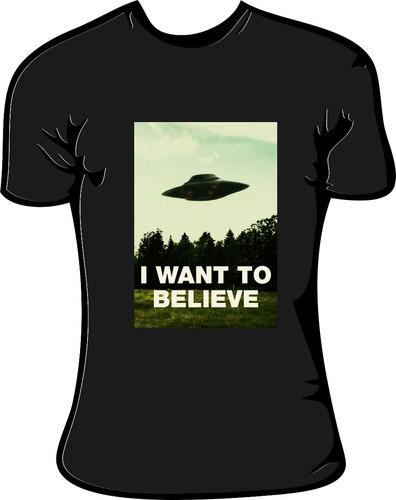 remera  i want to believe , alg, todos los talles | la señal