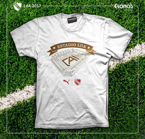 remera independiente edicion especial limitada 2017 camiseta