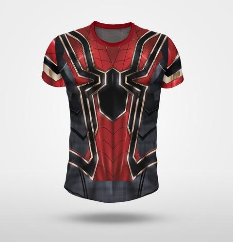 remera iron spider, spiderman (hombre araña) - full print