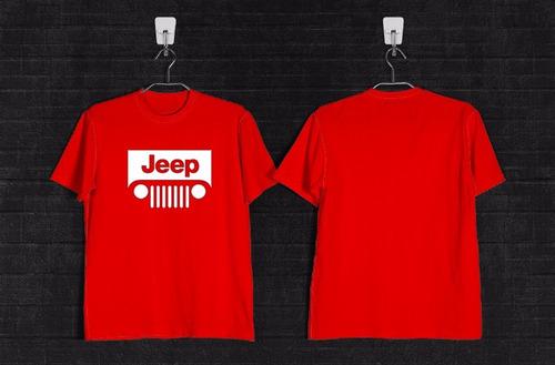 remera jeep +calco de regalo