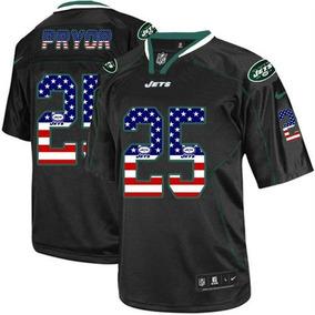 Remera F�tbol York Pryor 25 Jets Jersey New Americano