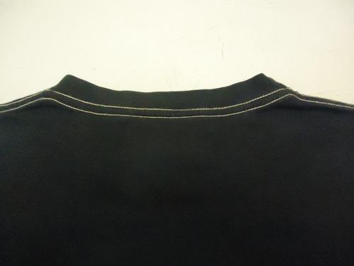 remera kosiuko manga larga c/estampa bordada beige s