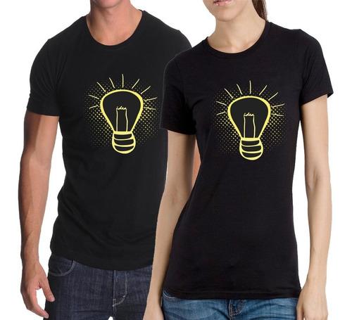remera lamparita - estampados con onda - diseño exclusivo