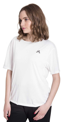 remera  le coq sportif  ess oversize tee w  mujeres