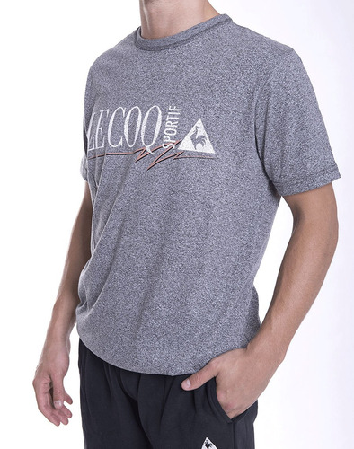 remera le coq sportif fred tee m hombres