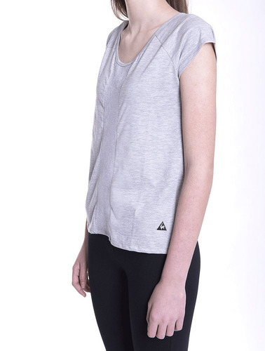 remera le coq sportif morly tee w mujeres