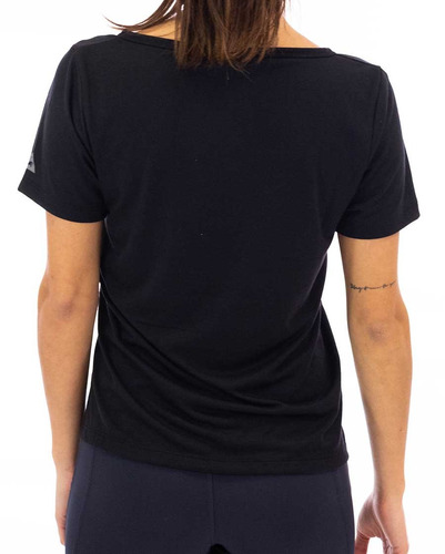 remera  le coq sportif  v neck tee w mujeres