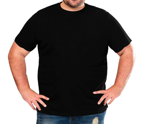 remera lisa algodon excelente acabado hombre especial 3x-6x