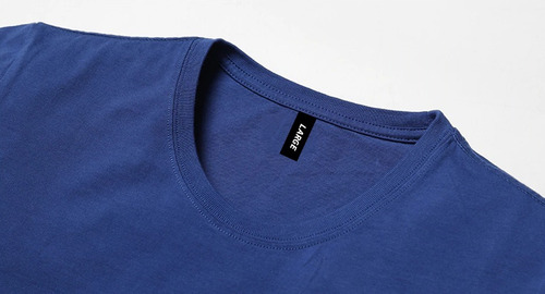 remera lisa algodón jersey peinado premium