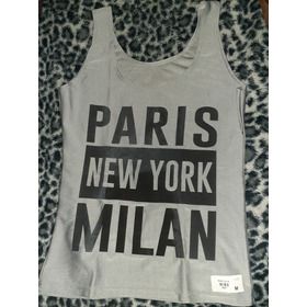 Remera Lycra Mujer Talle M Nueva