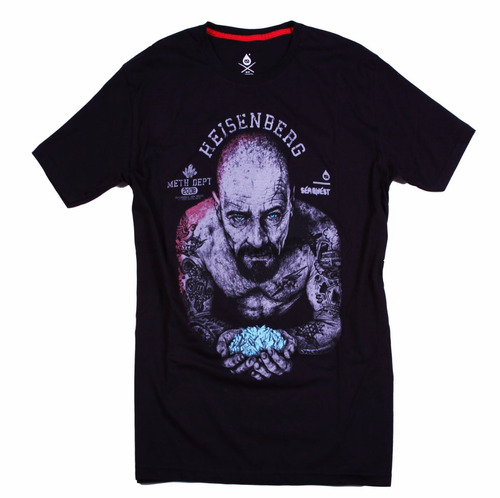remera manga corta de seaquest model breaking bad heisenberg