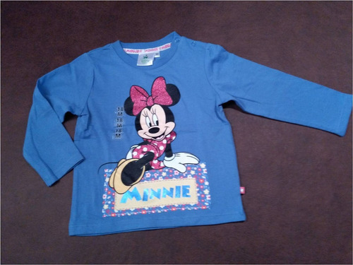 remera mangas largas disney  18 m