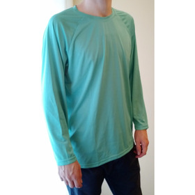 Remera Mangas Largas Teal Cove Original Talle Xl