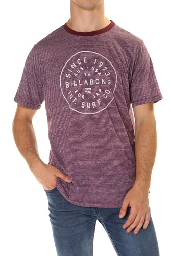 remera m/c billabong sealer tee hombre