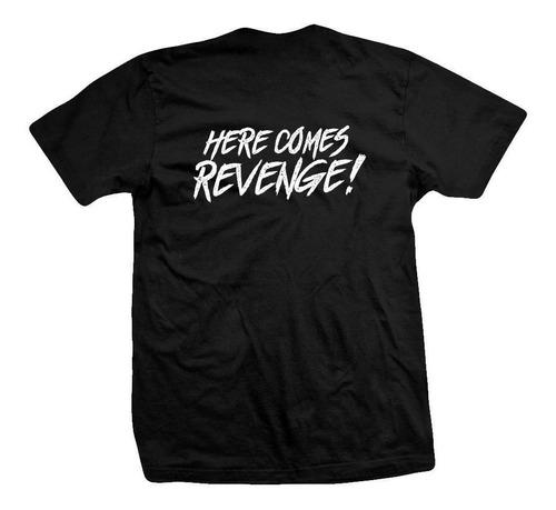 remera metallica here comes revenge