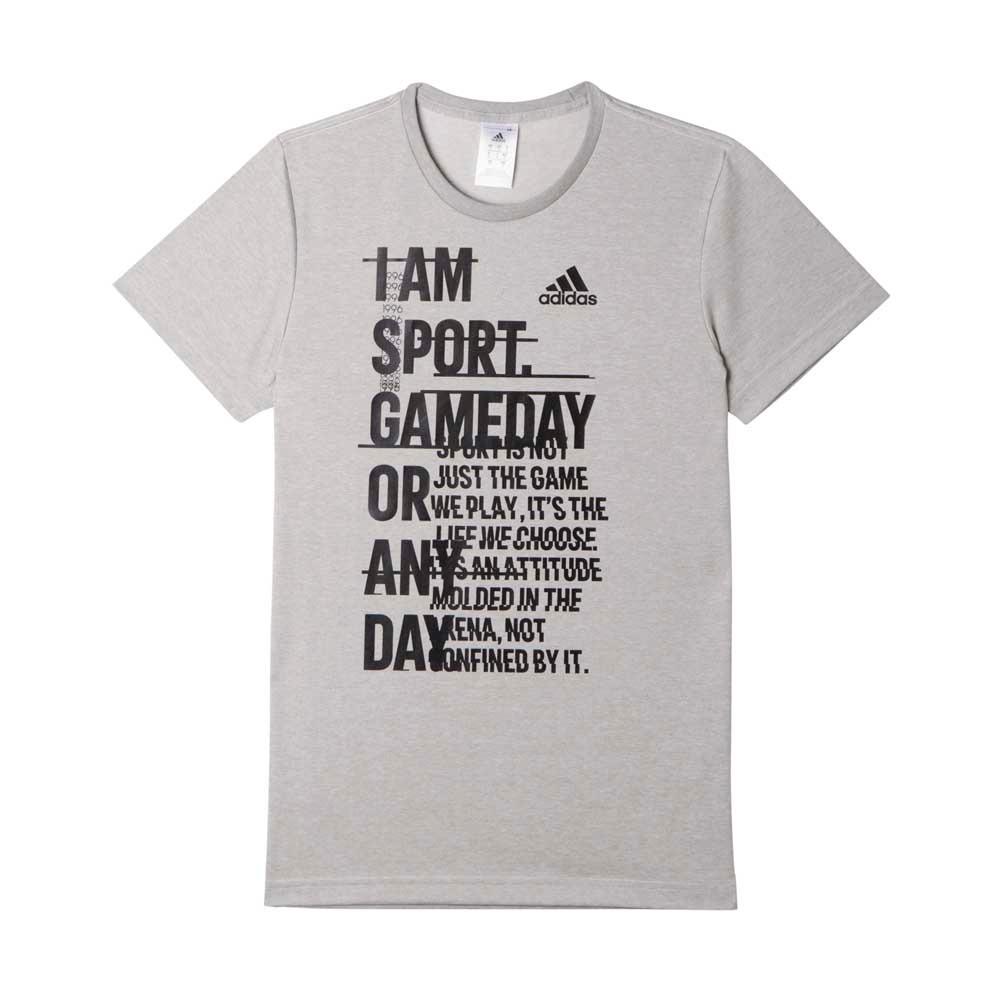 cheap for discount a3f89 bc551 remera moda adidas athletics i am sport hombre g. Cargando zoom.