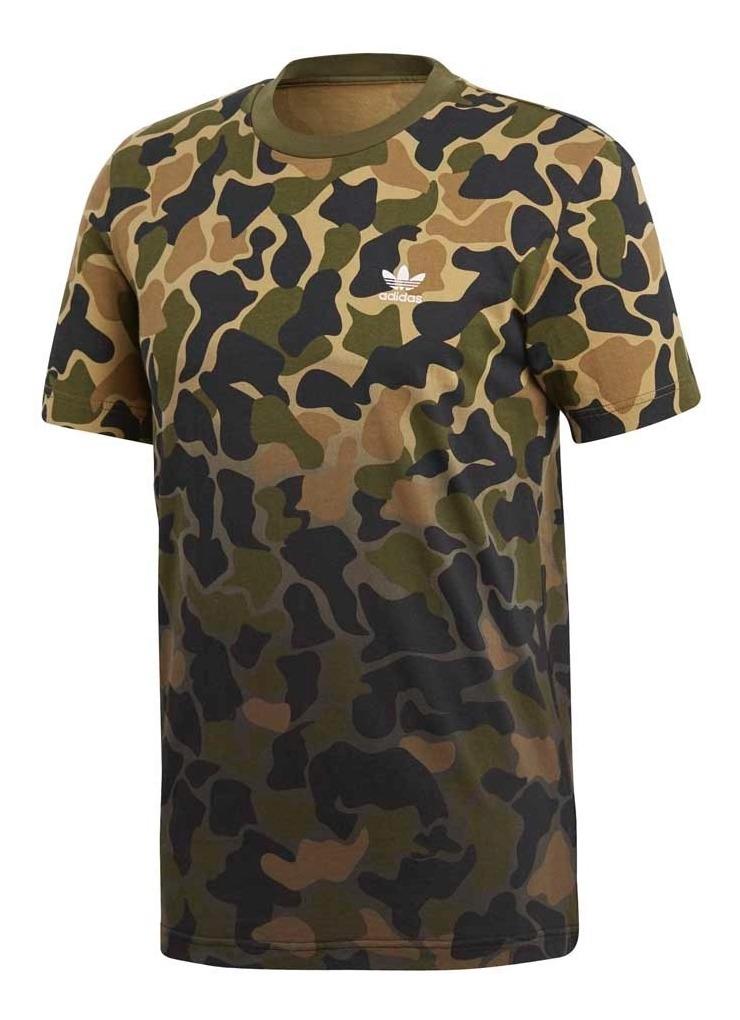 Remera Moda adidas Originals Camouflage Hombre 2068
