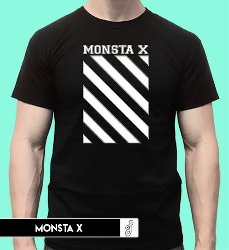 remera monsta x kpop unisex the connect tour the code